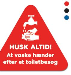 Hygiene stickers