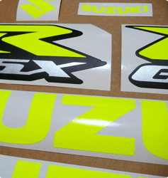 Neon stickers