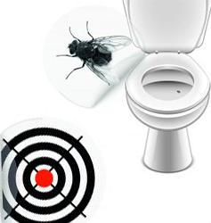 Urinal stickers